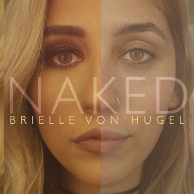 Brielle Von Hugel, CD titled, NAKED