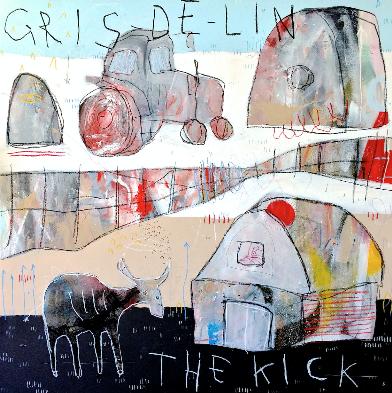 Gris de Lin, CD titled, The Kick