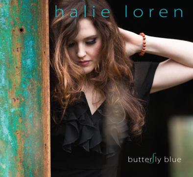 Halie Loren, CD titled, Butterfly Blue