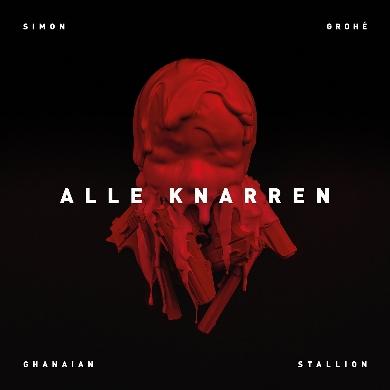 Simon Grohe and Ghanaian Stallion, CD titled, Alle Knarren