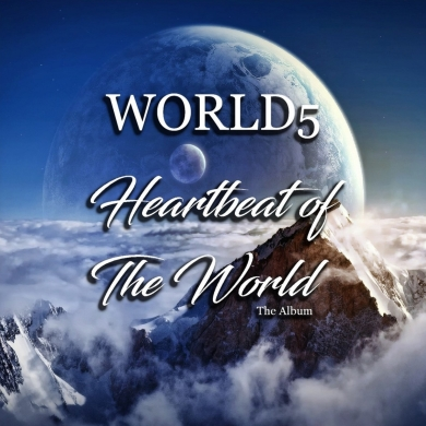 WORLD5, CD titled, Heartbeat Of The World