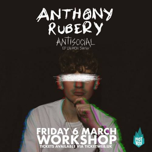 Anthony Rubery, CD titled, Antisocial