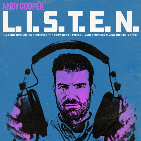 Andy Cooper, CD titled, L.I.S.T.E.N.
