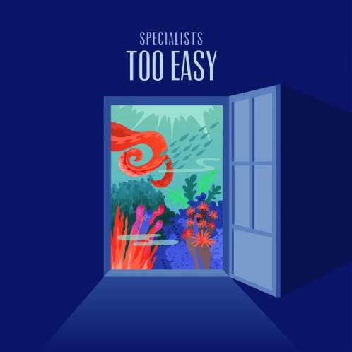 Specialists, CD titled, Too Easy