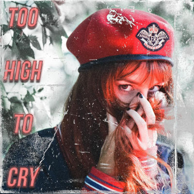 Austen, song titled, Too High To Cry