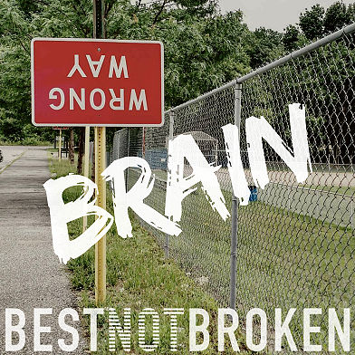 Best Not Broken, song titled, Brain