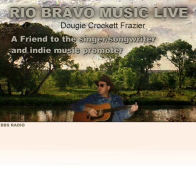 Dougie Crockett, picture from Rio Bravo Music Live radio show