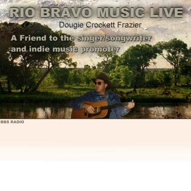 Dougie Crockett, picture from Rio Bravo Music Live radio show