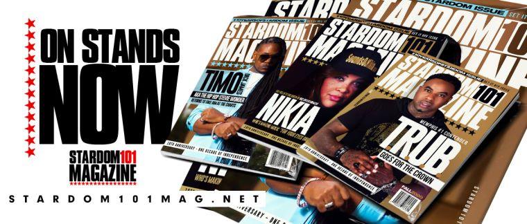 Stardom 101 Magazine featuring RnB singer Nikia