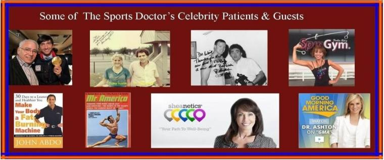 The Sports Doctor banner
