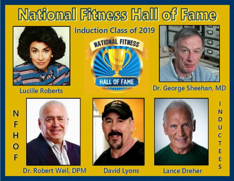 National Fitness Hall of Fame 2019