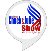 "Hey Alexa, ""Open Chuck an Julie"" or ""Open Truth Straight Up"""