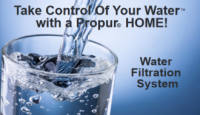 Propur USA - Take Control Of Your Water with a Propur HOME! Water Filtration System