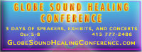 Globe Sound Healing Conference on Oct 5-8