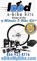 eBikeMyBike.com leed e0bike kits - Home of the 5 minute E-Bike Kit