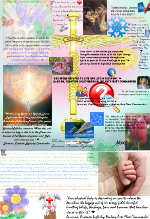 Creation Lightship Healing Collage with Ron Amitron
