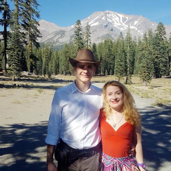 Det David Love & Dr Lana Love in Mt Shasta