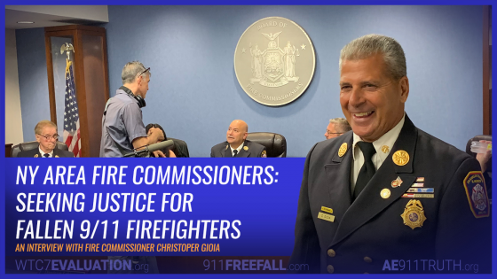 NY Area Fire Commissioner Seeking Justice for Fallen 9/11 Firefighters