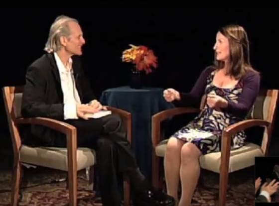 Alan Steinfeld and Lorna Byrne