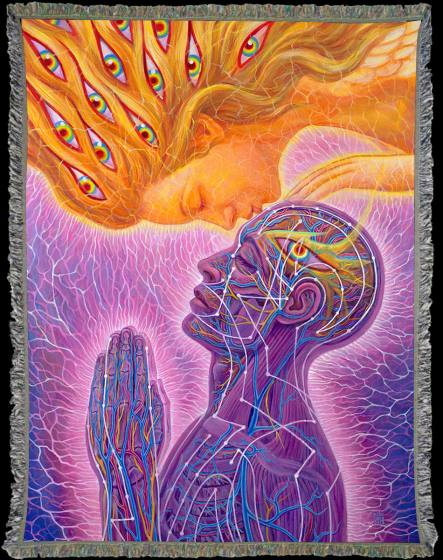 EXCHANGE PAIN for JOY-The Voice of the Ashtar Command with Commander Lady Athena, Art by Alex Grey