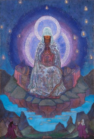 Mother of the World by Nicholas Roerich-The Voice of the Ashtar Command with Commander Lady Athena