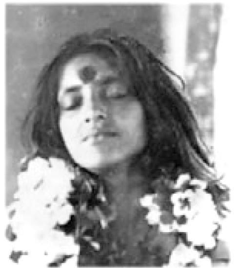 Sri Ananda Mayi Ma in Divine Bliss-Bhava Sanadhi