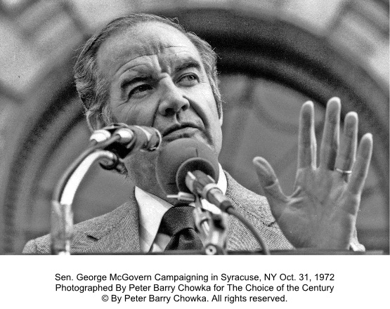 1972 George McGovern by Peter Barry Chowka