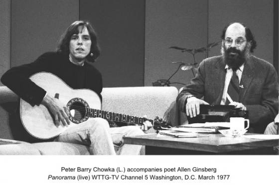 1977 Peter Barry Chowka and Allen Ginsberg