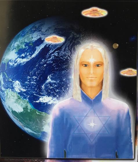 Commander Lord Ashtar-Voice of the Ashtar Command with CommanderLady Athena