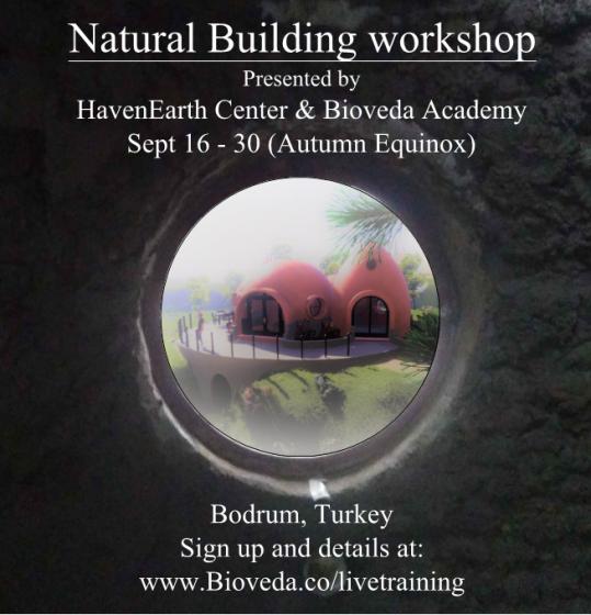 Haven Earth Workshop in Turkey