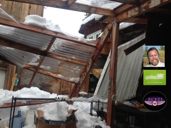 Greenhouse Damage at Eceti Ranch