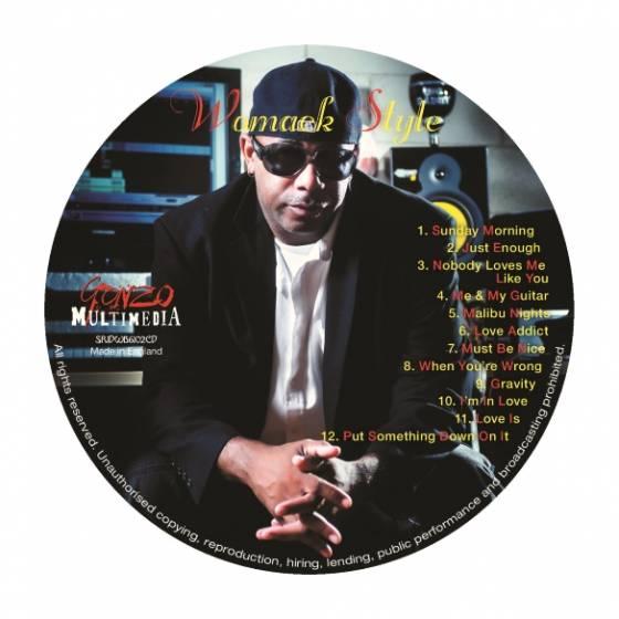 "New Album ""Womack Style"" by R&B/Rock Music Artist Binky Womack"