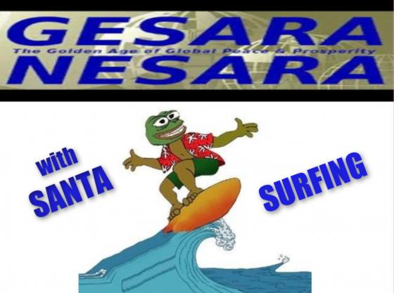 SpirituallyRAW Ep 340 NESARA and GESARA with Santa Surfing & Pimpy