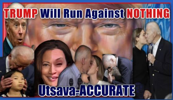 SpirituallyRAW Utsava-ACCURATE-TRUMP Will Run Against NOTHING!