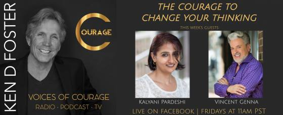 Kalyani Pardeshi and Vincent Genna - The Courage to Change Your Thinking