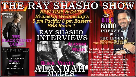 "Alannah Myles the Voice of Mega-Hit ""Black Velvet"""