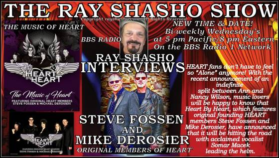 Steve Fossen and Mike Derosier Rock and Roll Hall of Fame music legends