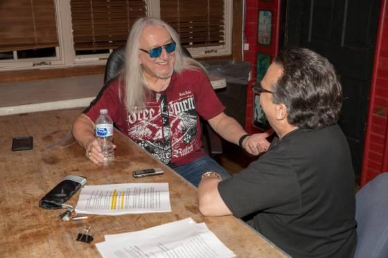 Mick Box and Ray Shasho at The House of Blues in Orlando Florida