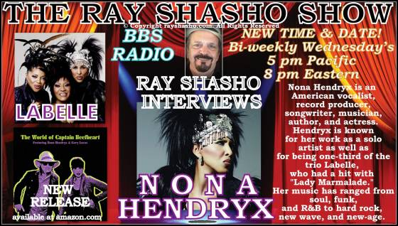 Nona Hendryx: American vocalist record producer, songwriter, musician, author, and actress