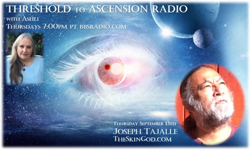 Joseph Tajalle on Threshold to Ascension Radio