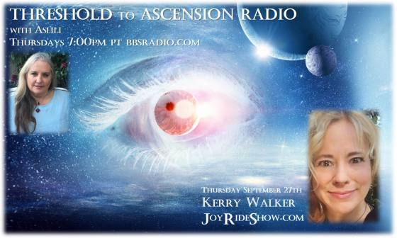 Threshold to Ascension Radio guest Kerry Walkerr