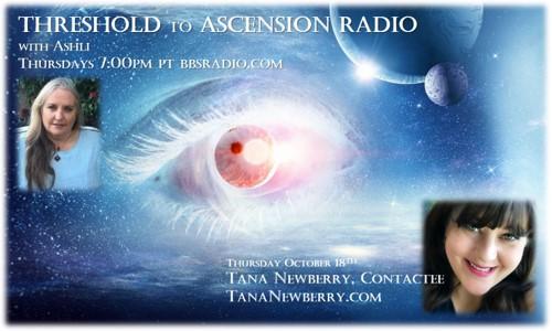 Tana Newberry on Threshold to Ascension Radio