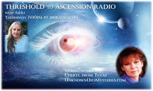 Cheryl from Texas on Threshold to Ascension Radio