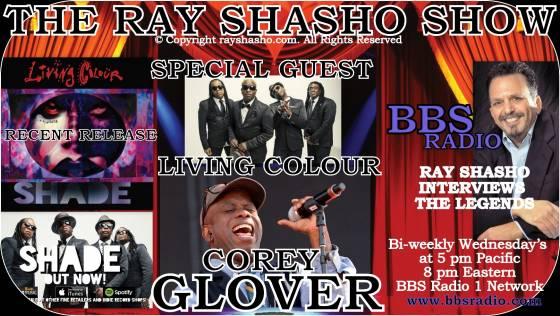 Corey Glover lead singer for Living Colour