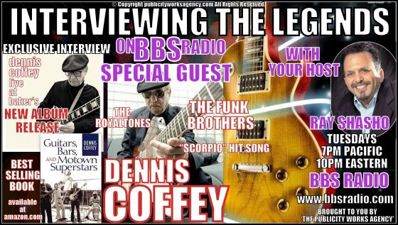 Dennis Coffey Chats about adding his Legendary Guitar Licks to Motown Hits