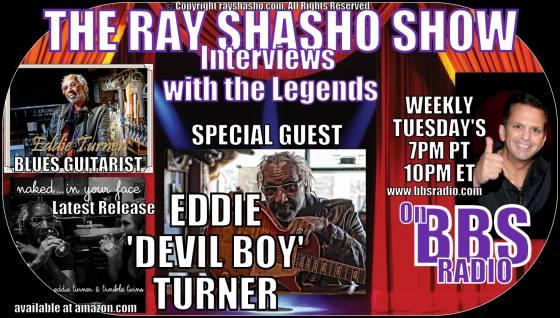 Eddie Devil Boy Turner Blues Guitarist, Singer and Songwriter