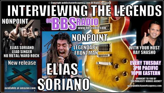 Nonpoint frontman Elias Soriano talks about their new album and tour