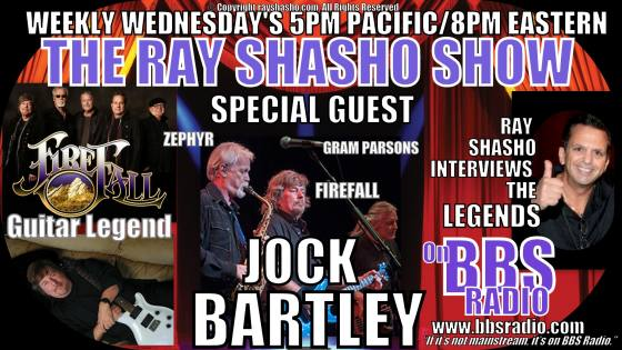 Firefall guitar legend Jock Bartley special guest on The Ray Shasho Show