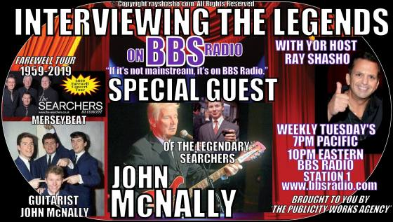 John McNally and The Searchers will call it quits in 2019