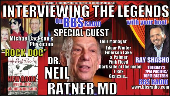 "Dr Neil Ratner MD chats about his new book ""Rock Doc"""